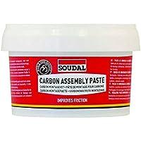 Soudal Carbon Assembly Paste Grasa, Rojo, Talla Única