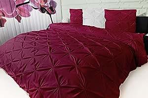 couvre lit toile imprim e 3d design moderne xxl 240 x 260 cm tissu bordeaux 240 x 260 cm. Black Bedroom Furniture Sets. Home Design Ideas