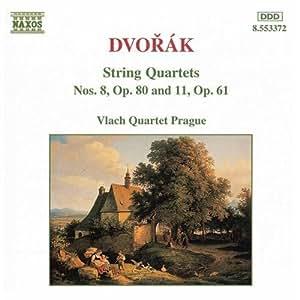 Dvorak: String Quartets 8 & 11