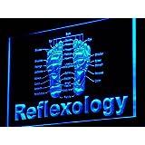 Enseigne Lumineuse j141-b Reflexology Foot Massage Shop NEW Neon Signs