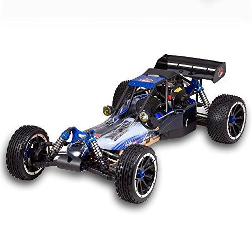 RC Auto kaufen Buggy Bild 6: Redcat Racing Rampage DuneRunner V3 4x4 Gas Buggy (1/5 Skala), Blau/Schwarz*