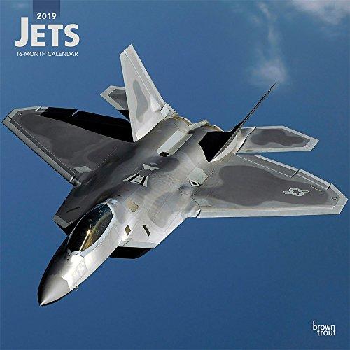 Jets - Düsenflugzeuge 2019 - 18-Monatskalender (Wall-Kalender)