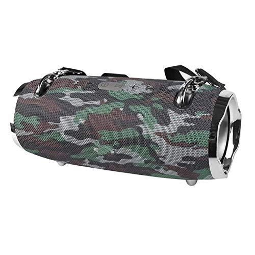 qiyan , Neue Zwei Generation Mini-Trommel Bluetooth-Lautsprecher im Freien wasserdichte drahtlose Bass-Lautsprecher Gun Audio-Beschichtung Outdoor-Gurt Audio-in tragbaren Lautsprechern Camouflage -