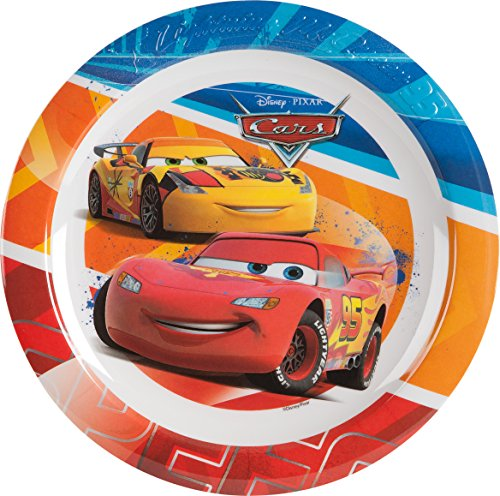 Newsbenessere.com 51Zs%2BcLsUgL Ciao 33918 Disney Pixar Cars Piatto Piano in Melamina, Multicolore