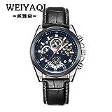 FENKOO Schöne Armbanduhren Quarzuhr Herrenmode herrenuhr quarzuhr Uhr männer (Color : 2)