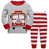 Hugbug Schlafanzüge für Jungen Langarm mit Lastwagen 2 Jahre