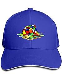 Melting Rubix Cube Eco Big Bang Theory Sandwich Bill Cap Trucker Caps Style Royalblue