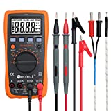 Neoteck Digital Multimeter 4000 Counts Auto Manual Range LCD-Display Backlight