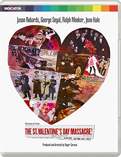 St Valentines Day Massacre - Limited Edition Blu Ray [Blu-ray]