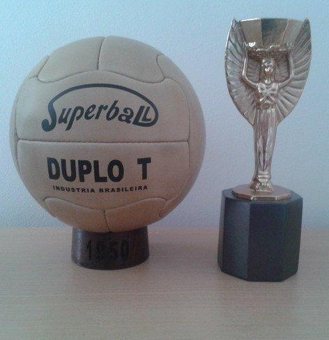 Balon Oficial Futbol Mundial DE Brasil 1950