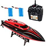 SainSmart Jr. RC High Speed Boat, 4CH 2.4G Radio Control Electric Racing Boat, Perfect Size for Pool Racing