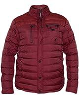 New Kangol Mens Designer Jacket Double Zip Button Collar Wind Breaker Coat