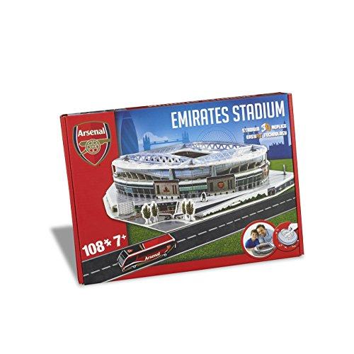Nanostad 3735 - Arsenal Puzzle Unisex - Einheitsgröße (Arsenal-fußball)