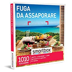Idea Regalo - SMARTBOX - Cofanetto regalo coppia- idee regalo originale - 2 giorni ideali per gli amanti della buona tavola