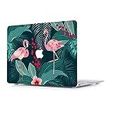 MacBook Pro 15 Hülle 2018 & 2017 & 2016 - L2W (neusten Freigabe Modell: A1990 & A1707) schützende harte Hülle, Soft-Touch-Kunststoff-Gummi beschichtete Shell-Abdeckung für Apple Macbook Pro 15 Zoll mit Touch-Bar und Touch ID - Flamingo-Muster 7