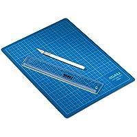 Cutter-Set, Inhalt Matte, Skalpell, Ersatzklingen, Schutzkappe, Schneidelinie
