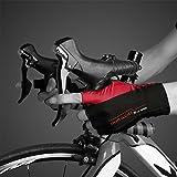 ICOCOPRO Radfahren Handschuhe, Lange Handgelenk Halbe Finger Männer/Frauen 3D Gel Pad Jugend Straße Berg Rennrad für Sport, Reiten, Gym, Wandern