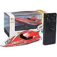 Ocamo Mini RC Barco Boat Control remoto juguetes para niños,2.4G Kids Toys 4 funciones