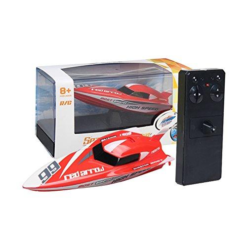 Ocamo Mini RC Barco Boat Control remoto juguetes para niños,2 4G Kids Toys  4 funciones