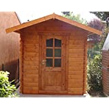 Casita de madera de jardín dekalux 2x 3