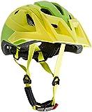 Cratoni Uni AllRide Fahrradhelm Fahrradhelm AllRide, Lime-White Matt, Gr. 53-60 cm (Herstellergröße: Uni)