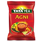 Tata Tea Agni is a superior blend of Assam tea along with 10% extra long leaves to give you a strong taste.