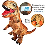 Dinosaurier-Kostüm, aufblasbar
