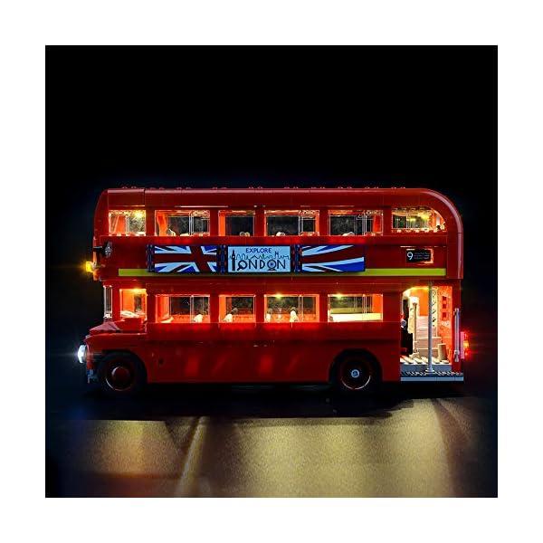 LIGHTAILING Set di Luci per (Creator Expert Autobus Londinese) Modello da Costruire - Kit Luce LED Compatibile con Lego 10258 (Non Incluso nel Modello) 5 spesavip