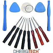 LCD/Protector de/recargable & placa base/micrófono/conjunto Kit de herramienta de repuesto para Apple Iphone5s