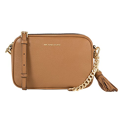 Michael Kors Camera Bag Ginny 32F7GGNM8L Acorn Michael Kors Handtaschen Gold Kette