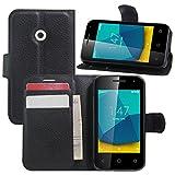 HualuBro Vodafone Smart First 7 Case, Premium PU Leather