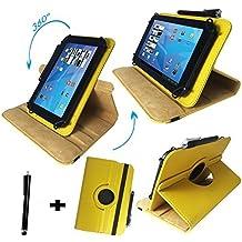 Onda V9193G Air Z3735–Teclado alemán Tablet Funda con función atril–9.7pulgadas teclado amarillo amarillo