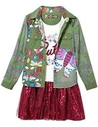 Desigual Mädchen Kleid Vest_butterfly