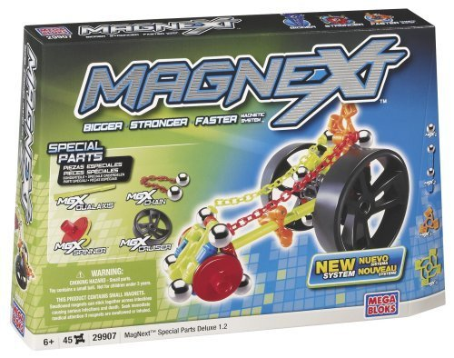 Mega Bloks Magnext 45 Count Special Parts Deluxe 1.2