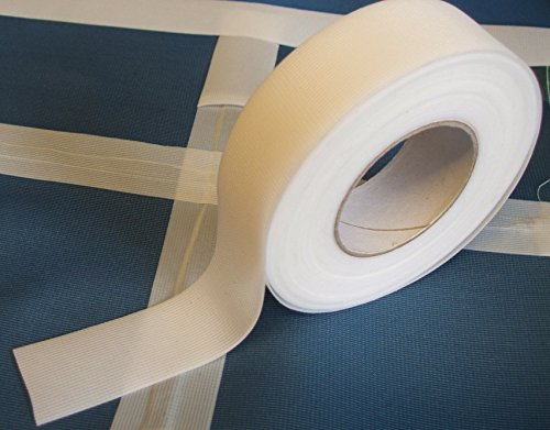 Nahtabdichtungsband T-2000X - Heißschmelzkleber 3-Schicht Wasserdicht - 5 Meter - gelten mit Bügeleisen (weiß, 22 mm Breite)