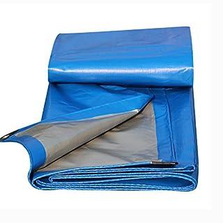 Allzweckplane Wasserdichte Plane Heavy Duty Mehrzweck Outdoor Reversible Verstärkte Regenabdeckungen Zelte,Blau,200G / M² (größe : 10x15 m)