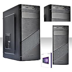 PC DESKTOP INTEL QUAD CORE CON LICENZA WINDOWS 10 PROFESSIOANAL 64 BIT/HD 1TB/RAM 8 GB DDR3 /HDMI-DVI-VGA/USB 3.0,2.0,AUDIO,VIDEO,LAN/RW-DVD LG/PC FISSO COMPLETO, UFFICIO,CASA,SCUOLA, SOCIAL NETWORK