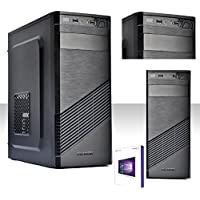 PC DESKTOP INTEL QUAD CORE CON LICENZA WINDOWS 10 PROFESSIOANAL 64 BIT ORIGINALE/HD 1TB/RAM 8 GB DDR3 /ENTRATE HDMI-DVI-VGA/USB 3.0,2.0,AUDIO,VIDEO,LAN/RW-DVD LG/PC FISSO COMPLETO , UFFICIO,CASA,SCUOLA, SOCIAL NETWORK VULTECH 1696