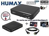 Pack Récepteur Satellite TNTSAT Humax TN8000HD PVR avec Disque Dur Externe Extra...