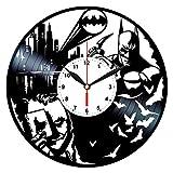 Queen Clocks Joker Batman-Horloge Disque Vinyle Décoration Murale-DC Comics Cadeaux d'anniversaire pour Homme