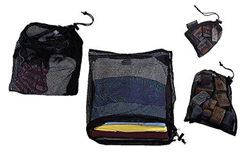 Cocoon Mesh stuff sack - Set mit 4 Netzbeuteln