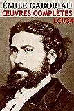 Emile Gaboriau - Oeuvres Complètes LCI/35