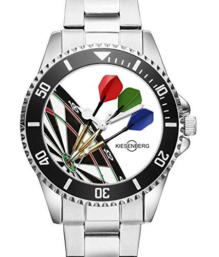 Dart Uhr Top Geschenk - Schöne Geschenkidee für Dartspieler - Uhr 2003
