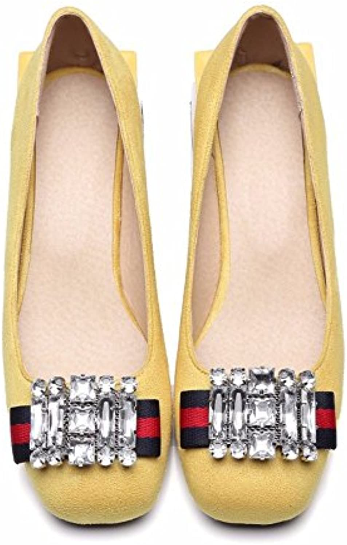 Vintage zapatos, zapatos grandes, señoras, solo zapatos,amarillo,33