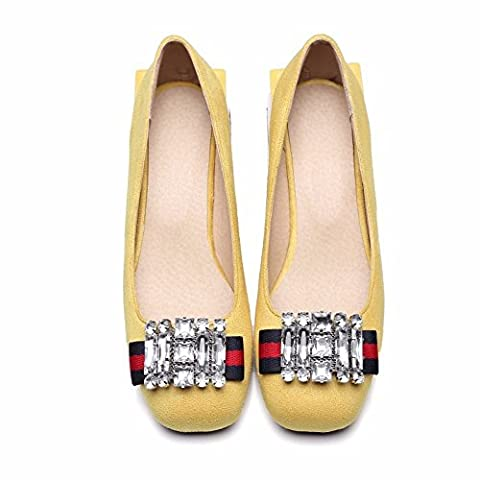Vintage shoes, chaussures, grandes dames, chaussures,unique,jaune 44