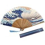 Youkara ventaglio Pieghevole Modello a ventaglio Cinese Ventola per la Decorazione Domestica