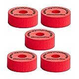 Cympad 40/15mm Chromatics Set - Red (Pack of 5)