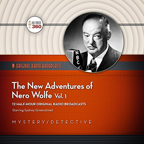 The New Adventures of Nero Wolfe, Volume 1  Audiolibri