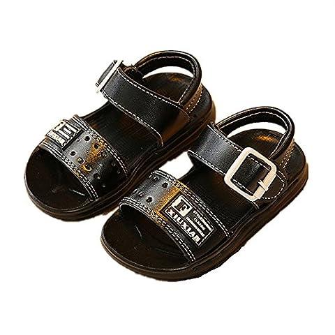 Kinder Sandalen, Chickwin Im Freien Kinder Schuhe Öffnen Toe Sommer Strand Flache Sandalen (24, (Bama Rolle)