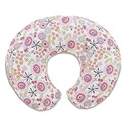 Chicco Boppy Cotton Slipcover - French Rose (Multicolor)